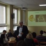 PhDr. Ján Oravec, CSc. - O súčasných problémoch podnikateľského prostredia na Slovensku pre študentov VŠMP ISM Slovakia